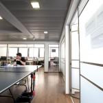 משרד בתל אביב משקיף על העיר