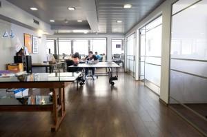 משרדים יפיפיים להשכרה בקומה גבוהה
