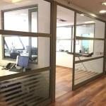 משרדים להשכרה עם רצפת פרקט