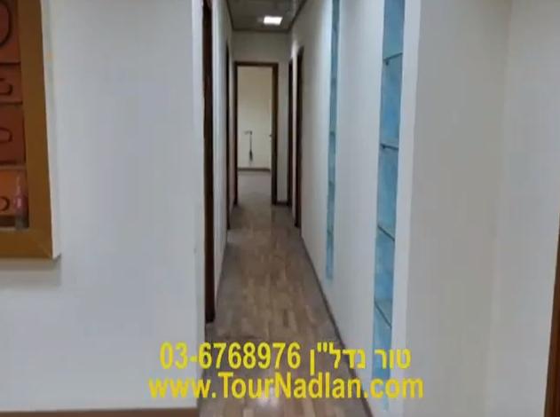 מסדרון של 218 מר מסודרים להשכרה בתל אביב