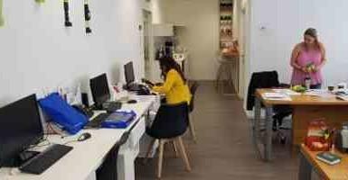 משרדים להשכרה במגדלי בסר 3 יפיפיים, 2 חדרים ואופן ספייס