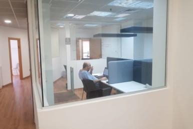 משרדים להשכרה ברמה גבוהה בק' גבוהה בבית גיבור ספורט בבורסה רמת גן