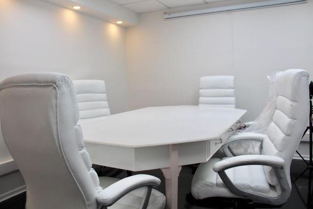 חדר ישיבות של משרדים מעוצבים משופצים ומרוהטים להשכרה ביד חרוצים