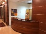 עמדת קבלה משרדים ברמה גבוהה מאוד להשכרה בניין בוטיק