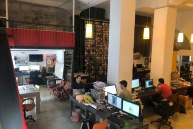 מרחב עבודה במשרדים מיוחדים מאד להשכרה בלב תל אביב