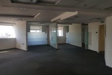 משרדים להשכרה במגדל משה אביב, ק' גבוהה נוף דרום מערב