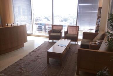 """146 מ""""ר משרדים יפיפיים במגדל משה אביב בבורסה"""