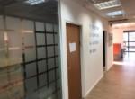 """מסדרון-  ב-470 מ""""ר משרדים להשכרה בבורסה בר""""ג"""