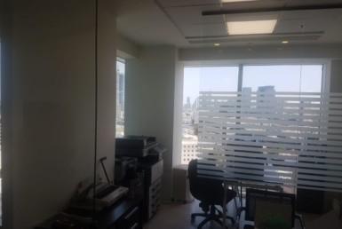 """100 מ""""ר משרדים יפיפיים במגדל אלקטרה ברח' הרכבת"""