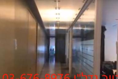 """617 מ""""ר משרדים מהממים בעזריאלי - ק' גבוהה ונוף לים"""