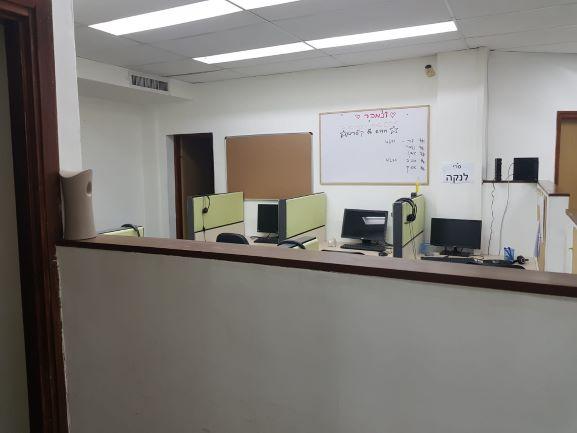 """קבלה קלוז - 165 מ""""ר Call center בבורסה"""