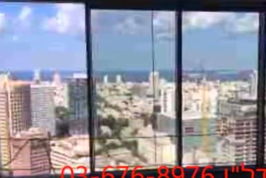 """400 מ""""ר משרדים במעטפת במגדל מידטאון קומה גבוהה, נוף לים"""