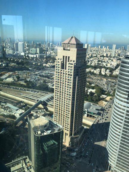 מגדל ספיר החדש בבורסה ברמת גן