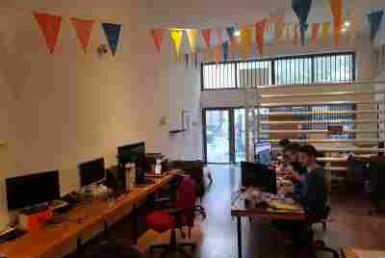 משרדים להשכרה מדהימים בלב שכונת מונטיפיורי, 5 דקות מרכבת עזריאלי