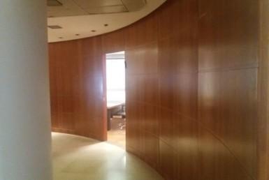 """335 מ""""ר משרדים מפוארים במגדל הארבעה, קומה גבוהה"""