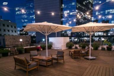 """700 מ""""ר להשכרה במבנה עצמאי, גג מדהים, עיצוב אדריכלי, ריהוט מלא"""
