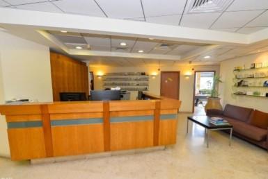 """540 מ""""ר משרדים להשכרה במגדל משה אביב בבורסה ברמת גן"""