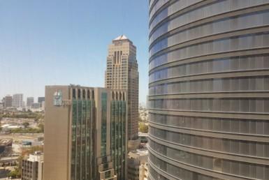 """355 מ""""ר במגדל מרכזי בבורסה ק' גבוהה, נוף מרהיב"""