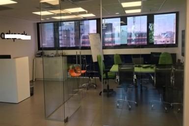 """משרד להשכרה בטיומקין ת""""א 410 מ""""ר, חדר ישיבות"""