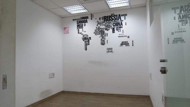410 משרד יפייפה על יגאל אלון, פינה