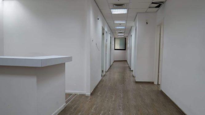 410 משרד יפייפה על יגאל אלון, מסדרון וקבלה