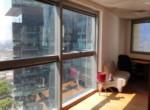 משרדים מפוארים להשכרה במגדל פלטינום, נוף מהחלון