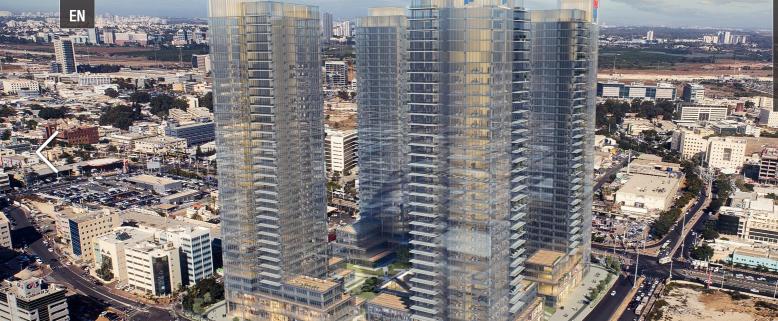 """310 מ""""ר משרדים למכירה בבסר סיטי פ""""ת, 4 בניינים"""