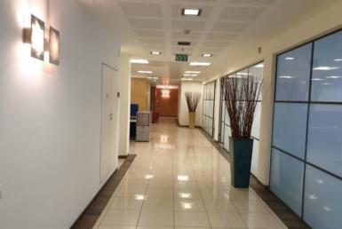 """700-1,000 מ""""ר משרדים מושלמים להשכרה בהרצליה, מסדרון"""