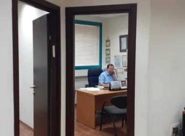 """110 מ""""ר משרדים יפים וסולידים בשוהם ק. מטלון, חדר עבודה"""