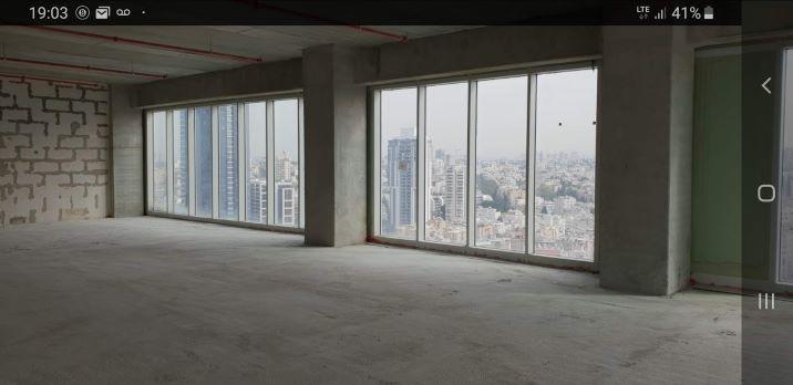 """930 מ""""ר בקומה גבוהה במגדל וויי ברמת מעטפת,"""