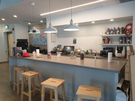 """230 מ""""ר משרדים מטופחים בסגולה פתח תקווה, מטבח"""
