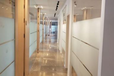 """382 מ""""ר משרד נדיר להשכרה בבורסה, מסדרון"""