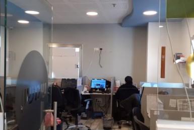 """200 מ""""ר משרדים להשכרה במשה דיין פתח תקווה, אופן ספייס"""