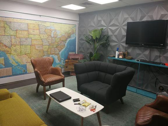 """150 מ""""ר משרדים ברמה להשכרה בתעשייה, פינת מנוחה"""