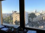 """450 מ""""ר משרד במגדל שלום, נוף לים"""