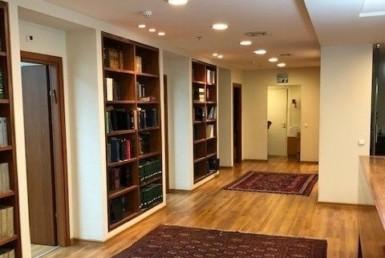 """450 מ""""ר משרד במגדל שלום, מסדרון"""