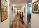 """500 מ""""ר משרדים מטופחים במגדל קרדן, מסדרון"""