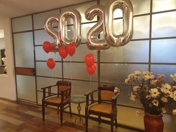 """500 מ""""ר משרדים מטופחים במגדל קרדן, רחבת המתנה"""