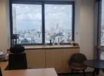 משרד במגדל על, ק' גבוהה, נוף לים, חדר עבודה