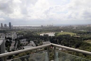 """מגדל בסר 2, 314 מ""""ר, מרפסת, נוף לים"""