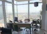 """470 מ""""ר משרד להשכרה בבסר 3 ק' גבוהה, חדר עבודה עם נוף"""
