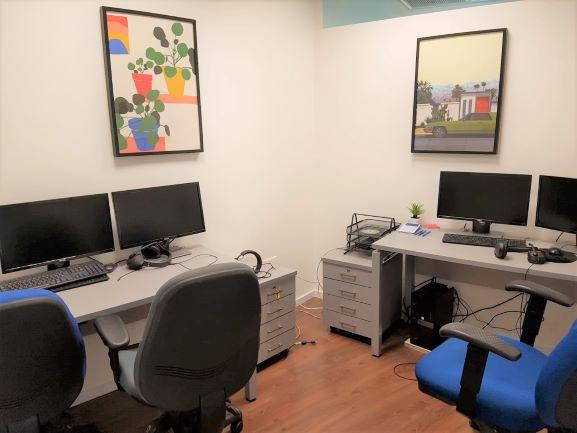 """160 מ""""ר משרד להשכרה במשה אביב, ק' גבוהה, חדר עבודה"""