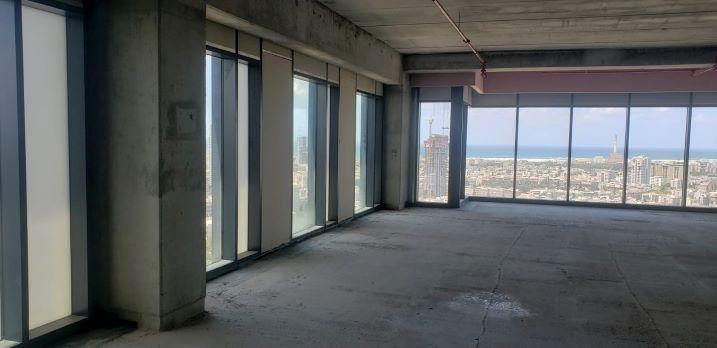 """242 מ""""ר משרדים להשכרה בניין רסיטל, מעטפת פינה 2"""