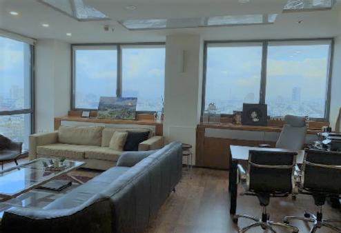 משרד מהודר במגדל על דיזינגוף, אופן ספייס