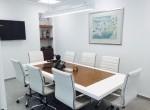 """150 מ""""ר משרד מפואר בוי טאואר, חדר ישיבות"""
