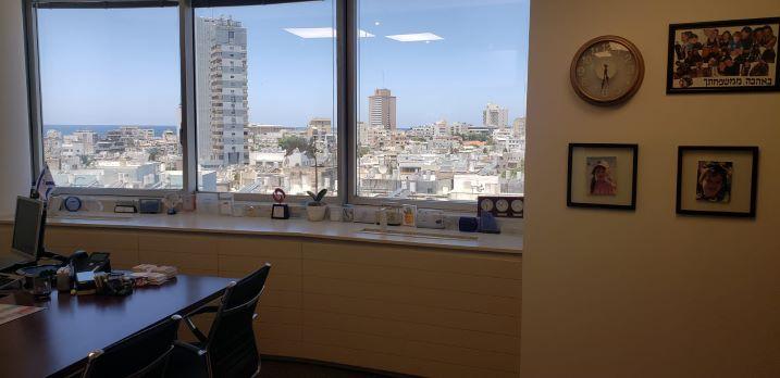 """200 מ""""ר להשכרה, מגדל על, דיזנגוף סנטר, תל אביב, משרד"""