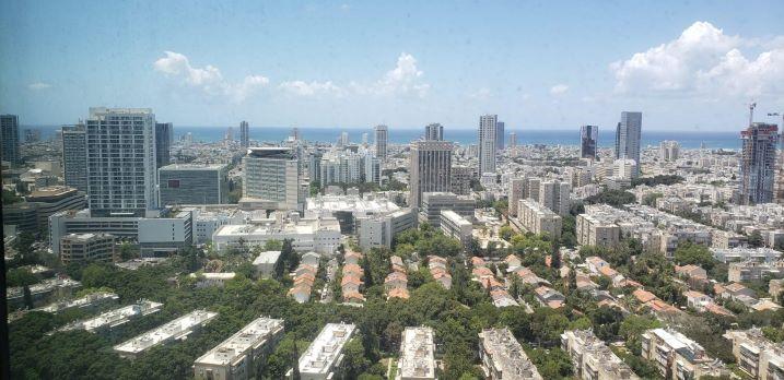 """Ressital277 מ""""ר, להשכרה, מגדל רסיטל, תל אביב, נוף לים"""