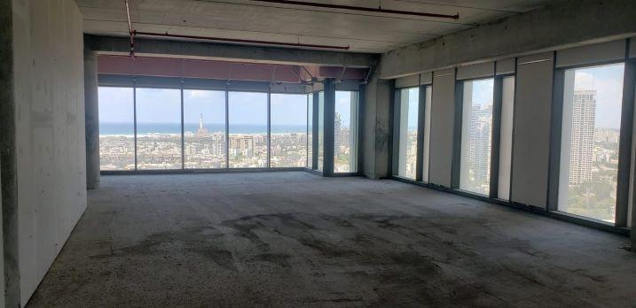 """277 מ""""ר, להשכרה, מגדל רסיטל, תל אביב, מעטפת 1"""