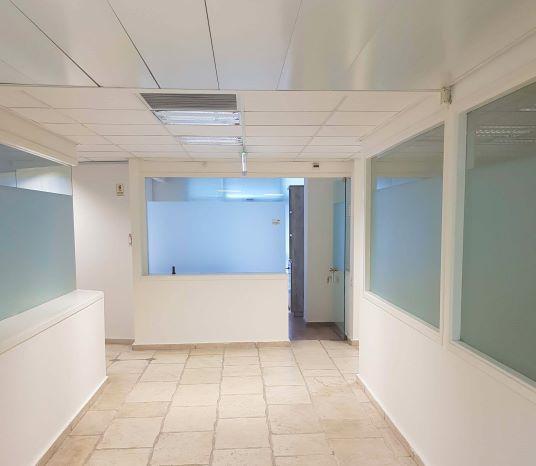 """משרד 450 מ""""ר במסגר ת""""א למכירה, מסדרון"""