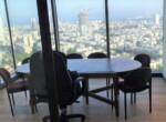 """242 מ""""ר משרדים חדשים במגדל רסיטל, ק' גבוהה, חדר ישיבות"""
